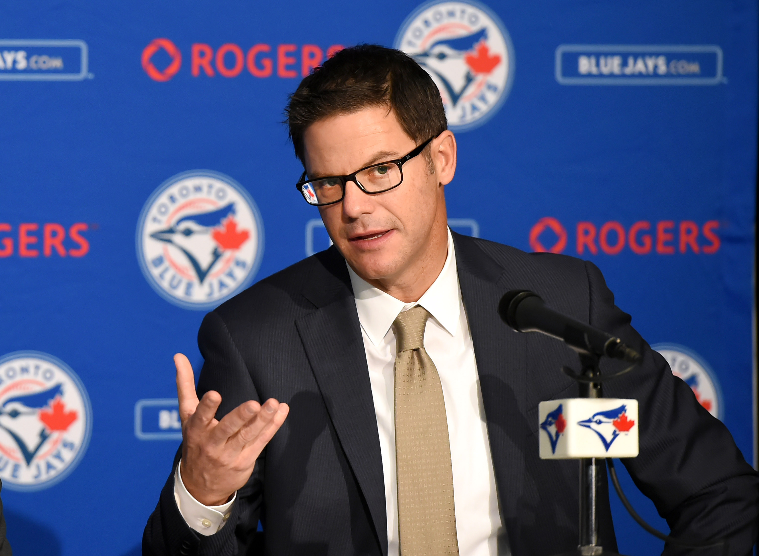 MLB: Toronto Blue Jays-Press Conference