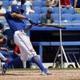 MLB: Spring Training-Canadian Jr Nationals at Toronto Blue Jays