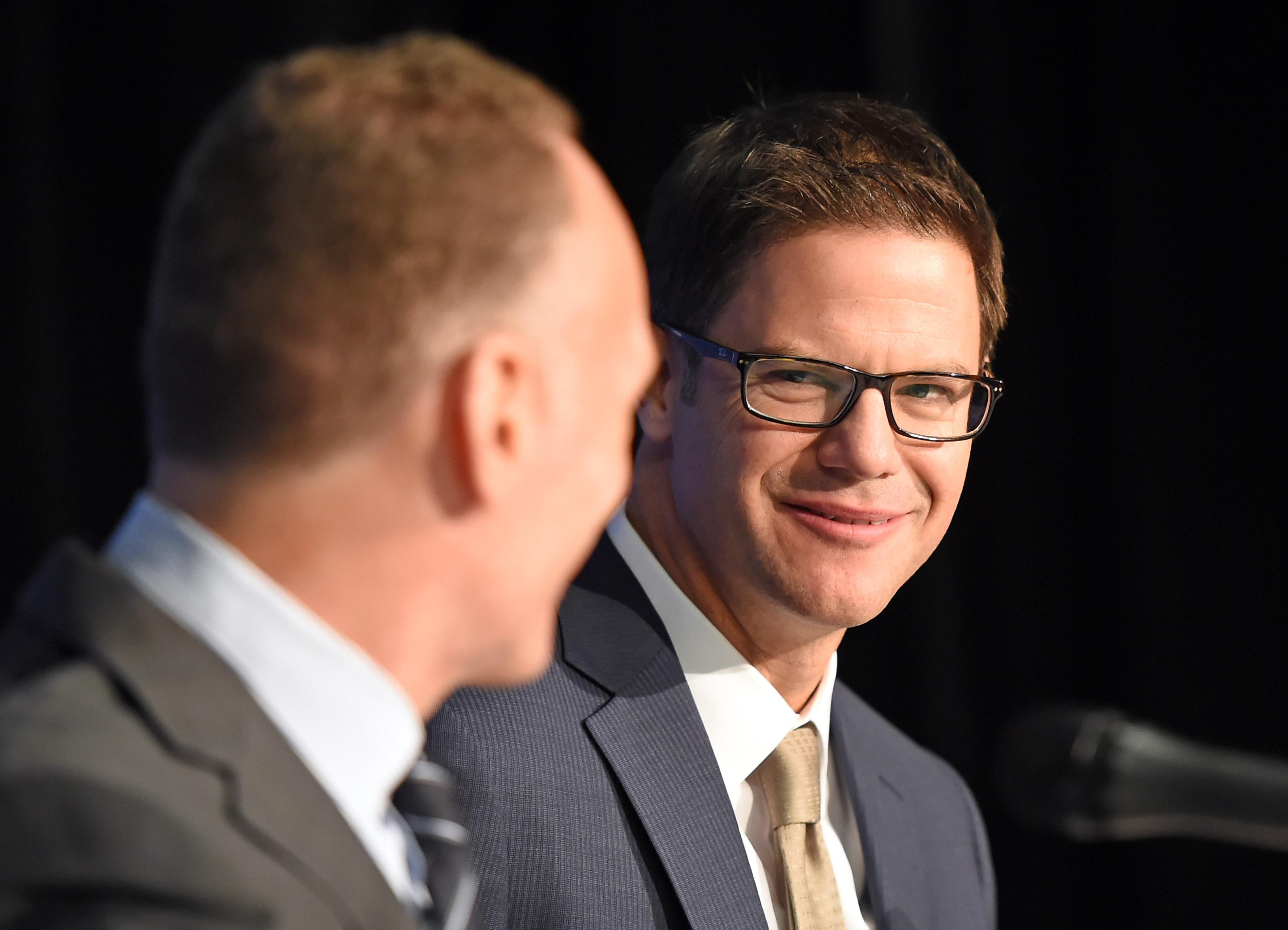 MLB: Toronto Blue Jays-Press Conference