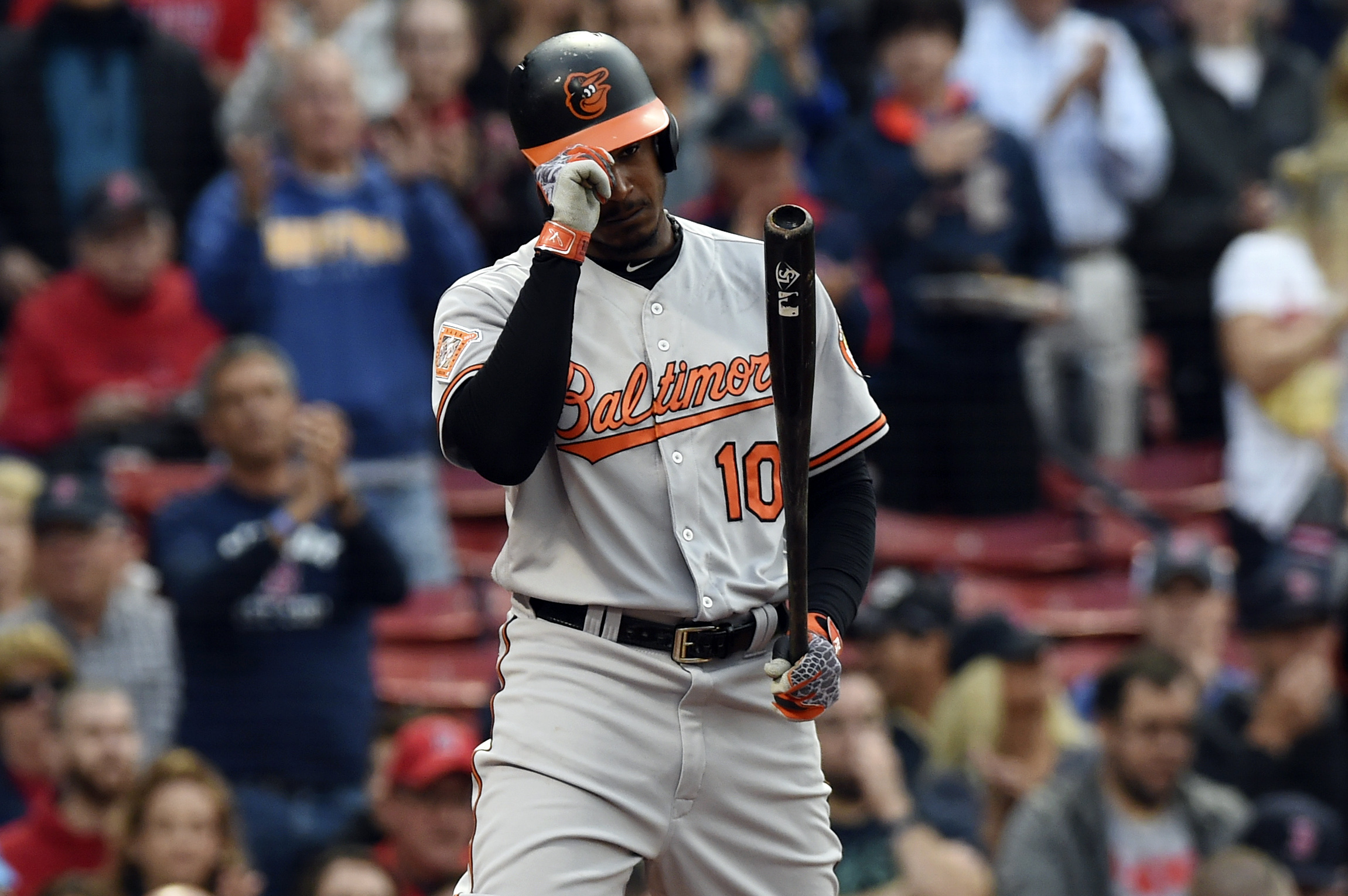 MLB: Baltimore Orioles at Boston Red Sox
