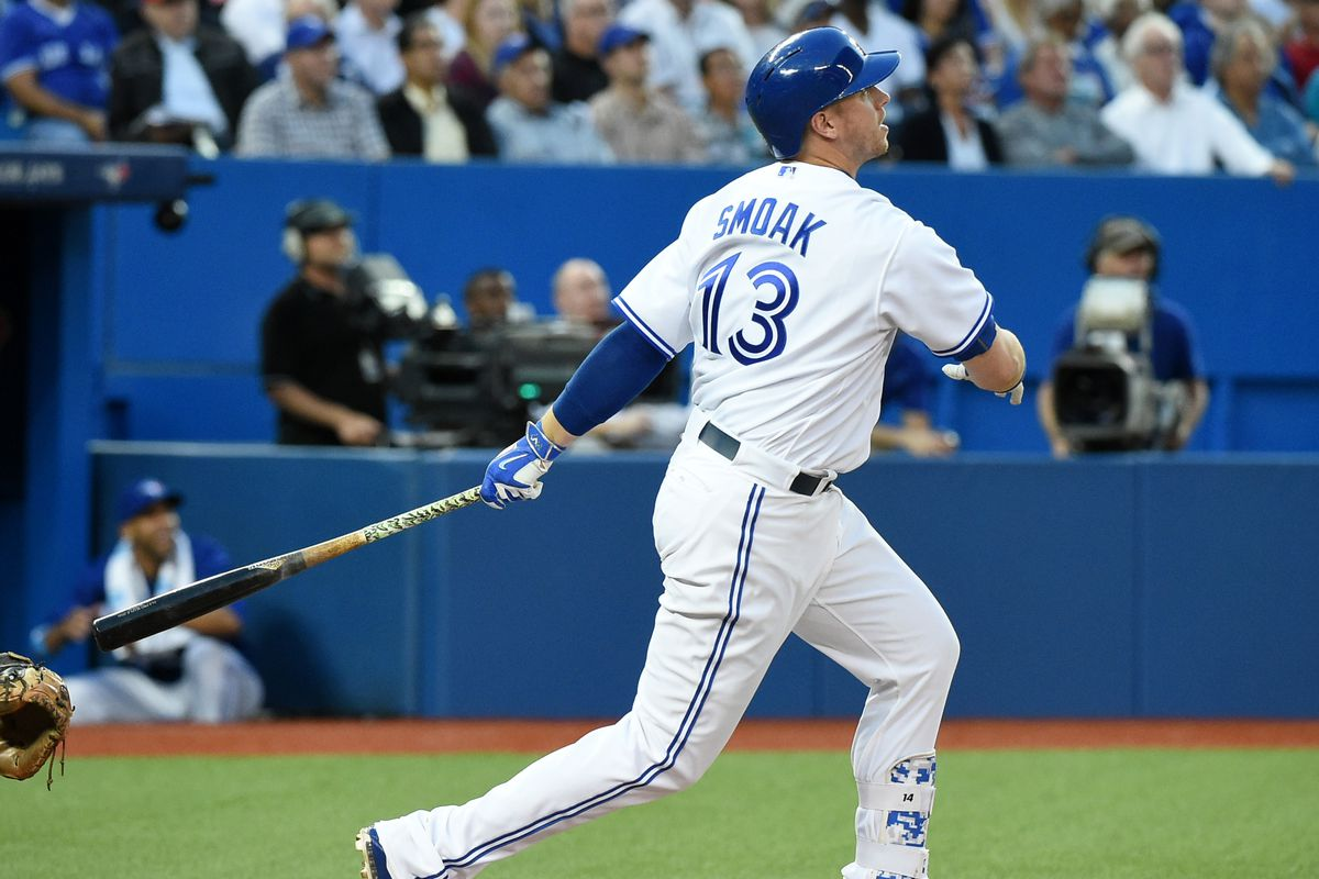 Justin Smoak Home Run