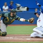 MLB: Oakland Athletics at Toronto Blue Jays