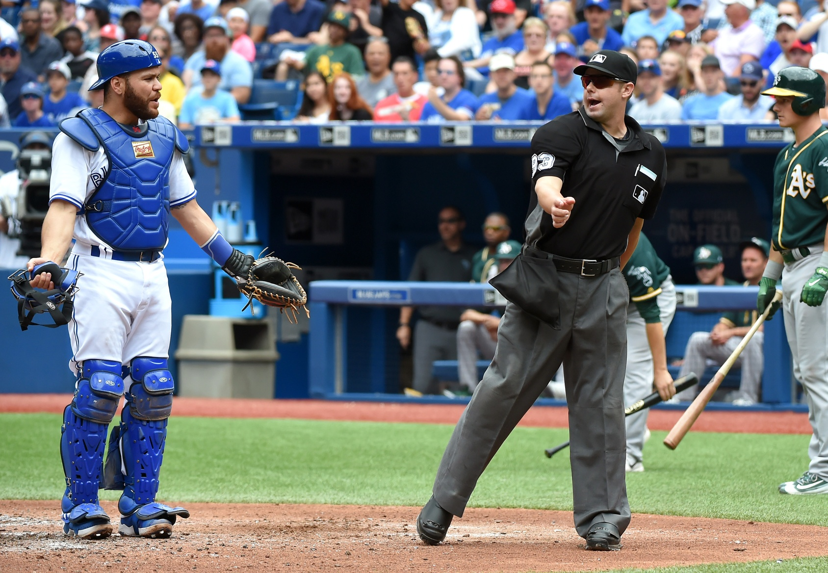 Will Little Russell Martin Ejection Umpire