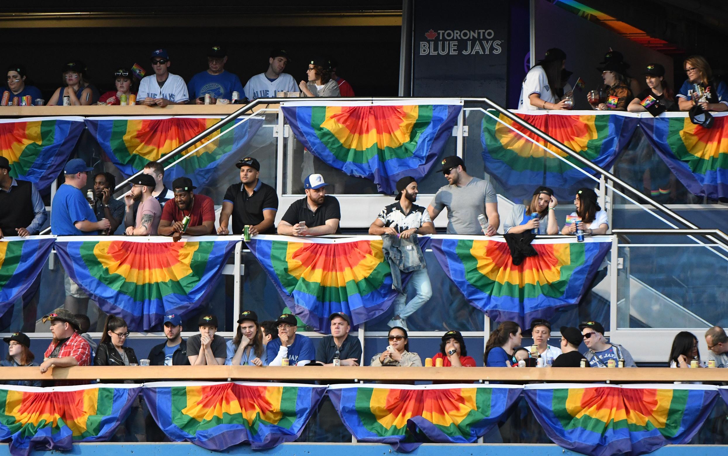Blue Jays Pride Night